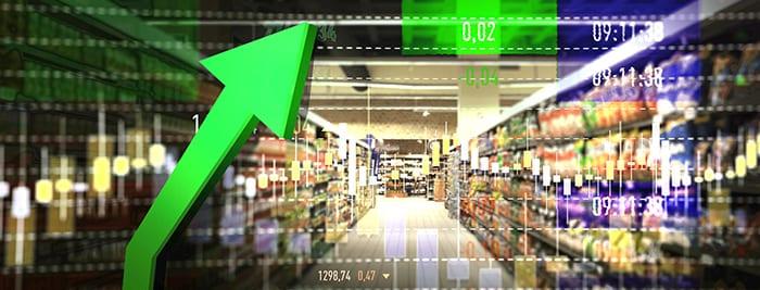 Supermarket Shopping Rise